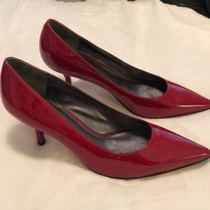 NEW Red Via Spiga Heels